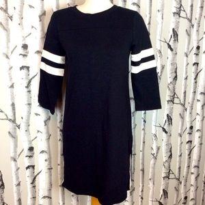 NWT Beautiful JCrew Cotton Black and White Dress